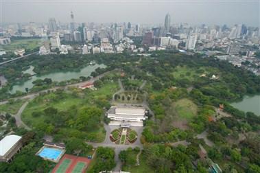 Lumpinee Park in Bangkok