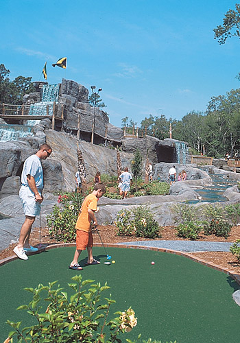 Miniature Golf, Myrtle Beach