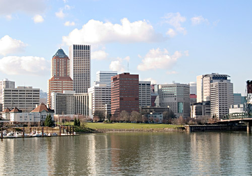 Downtown Portland Waterfront