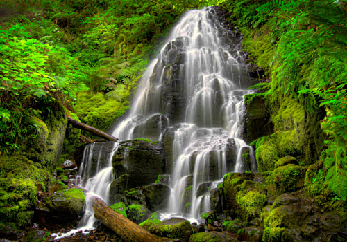 Fairy Falls at Columbia River Gorge