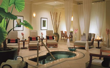 The Spa Salon at the Four Season Resort Dallas