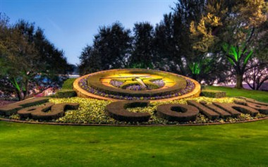 Las Colinas Flower Clock