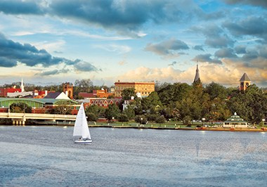 New Bern Skyline