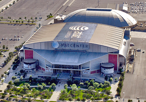 AT&T Center, Home of the San Antonio Spurs