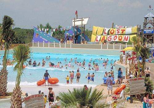 Lost Lagoon Waterpark at SeaWorld San Antonio