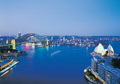 Sydney Harbour Skyline View
