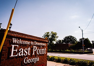 East Point Sign