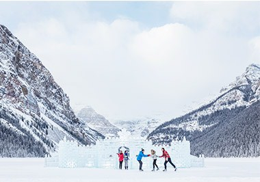 Winter Lake Louise