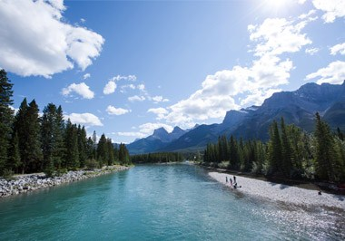 Canmore River