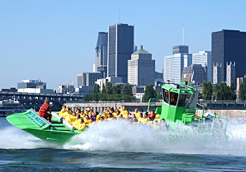 Jet Boating Lachine Rapids