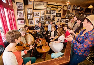 Traditional Music Session Galway Pub