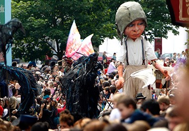 Macnas Galway Arts Festival Parade The Wild Hunt