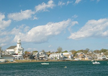 Cape Cod Cityscape