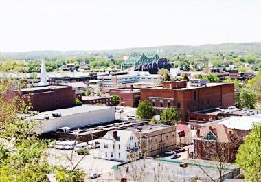 Parkersburg Cityscape