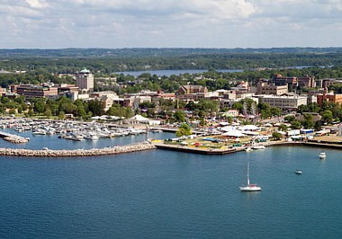 Traverse City Skyline