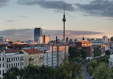 Blick uber Berlin Mitte