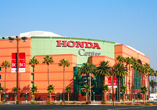 Honda Center, Home of the Anaheim Ducks