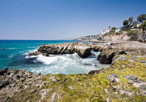 Californian Coast at Victoria Beach