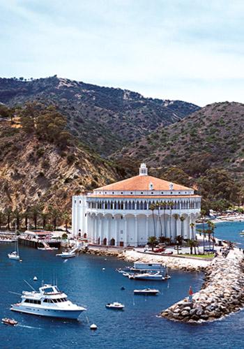 Avalon Harbor at Catalina Island