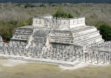 Temple of the Warriors at Chichen Itza