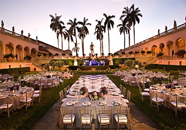 Ringling Courtyard Dining