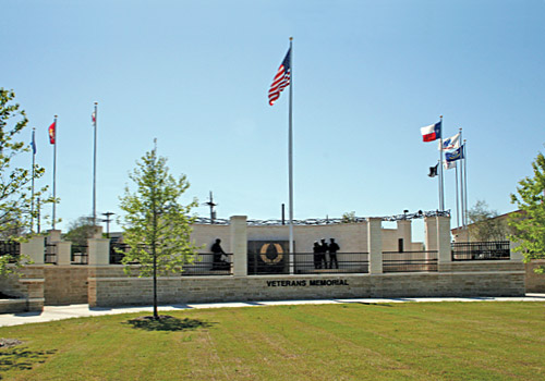 Plano Memorial Park and Veterans Memorial