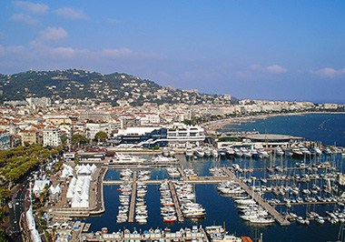 Cannes Cityscape