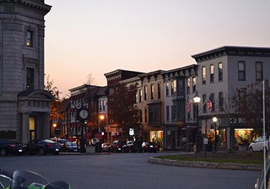 Lincoln Square in Downtown Gettysburg