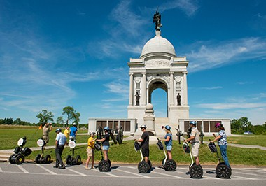 Segway Tour of the Gettysburg Battlefield