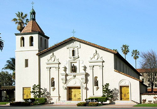 Mission Santa Clara de Asis at Santa Clara Univers