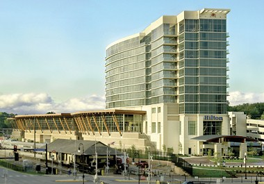 Convention Center & Railroad