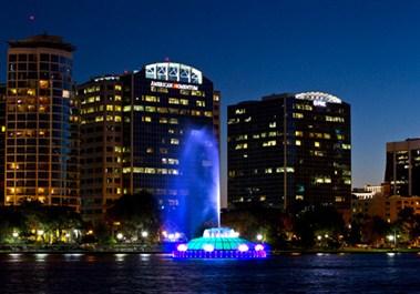 Downtown Orlando – Lake Eola