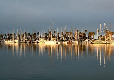Harbor Reflection Warren Barrett