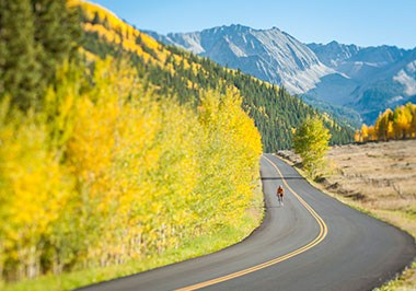 Road Biking to Ashcroft