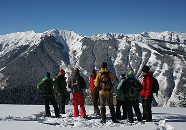 Aspen Mountain Snowshoe Tour