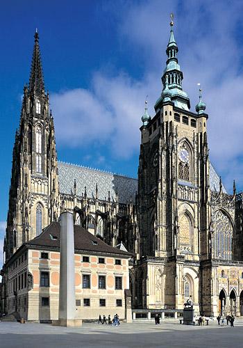 St. Vitus, St. Wenceslas and St. Adalbert Cathedra