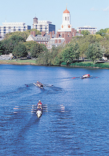 Charles River Near Harvard University