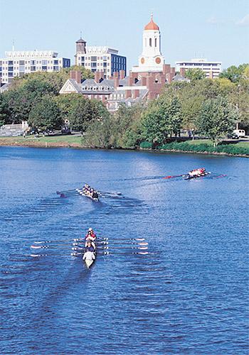 Charles River Near Harvard University