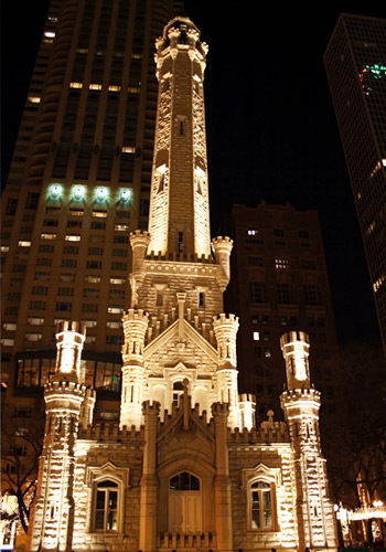 Historic Chicago Water Tower