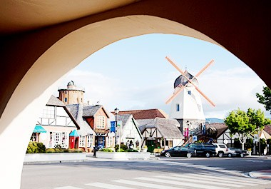Downtown Solvang Danish Village