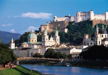 Salzburg-Gesamtansichten
