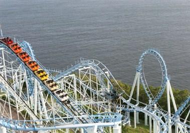 Roller Coaster in Ocean Park