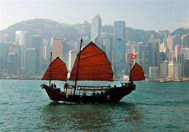 Junkboat Hong Kong