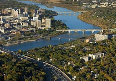 Saskatoon cityscape