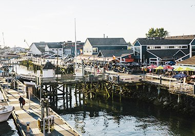 Fishermans Wharf and Steveston Landing