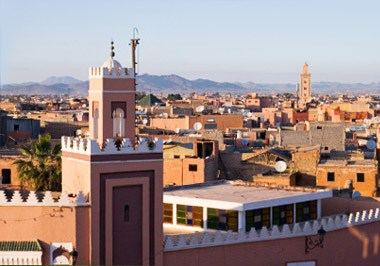 Marrakesh Cityscape