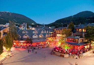 Vibrant Whistler Village