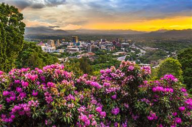 Asheville Cityscape