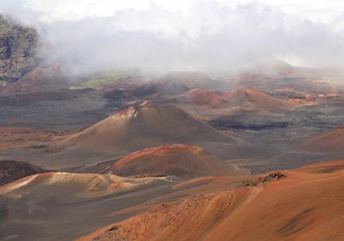 Haleakala Volcano Crater, Haleakala National Park