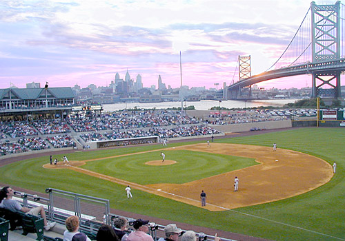 Campbell's Field, Home of the Camden Riversharks
